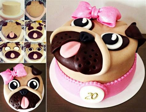 how to make pug cupcakes wonderful diy pug cake