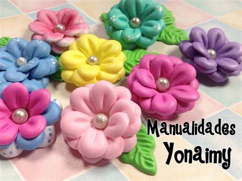 flores de foamy flores triples de foamy o goma eva con moldes de