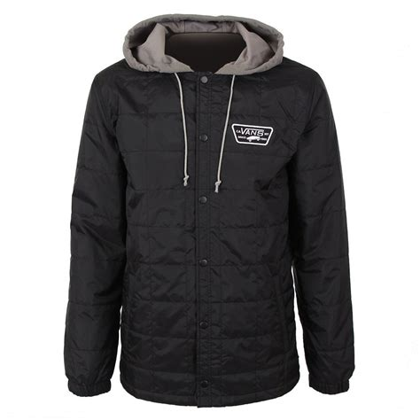 Jaket Vans Volka Skate Black vans jacket nike air max de excellerate des femmes