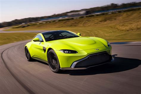lime green aston martin 2018 aston martin vantage revealed advantage aston