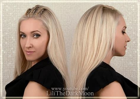 lilith moon hair tutorials lilith moon hair styles lilith moon youtube crown braid