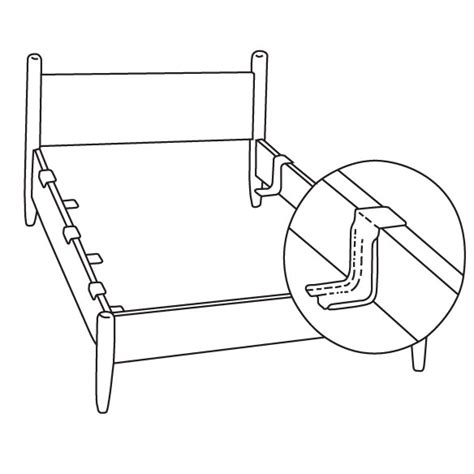 bed support bed support rails bed rail supports bed side rails easy comforts