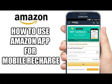 how to recharge mobile recharge mobile through app