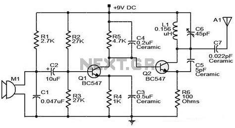 bc547 transistor frequency transmitter circuit page 5 rf circuits next gr
