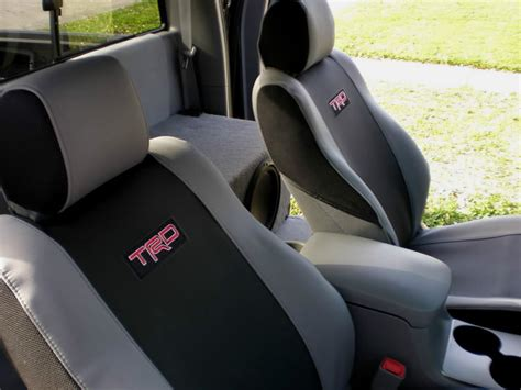 Toyota Tacoma Trd Seat Covers Trucks Factory Interior Car Parts