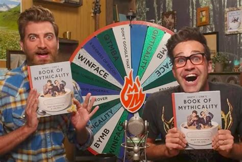 rhett link s book of mythicality a field guide to curiosity creativity and tomfoolery books we talked to rhett link about their epic new book rhett