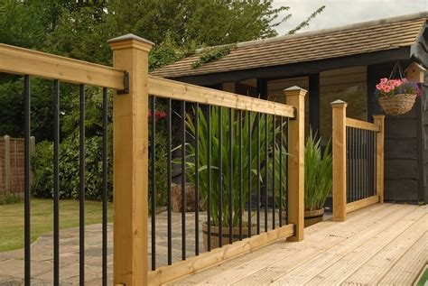 Outdoor Railing Spindles How To Install Deck Railings And Balusters Yourself