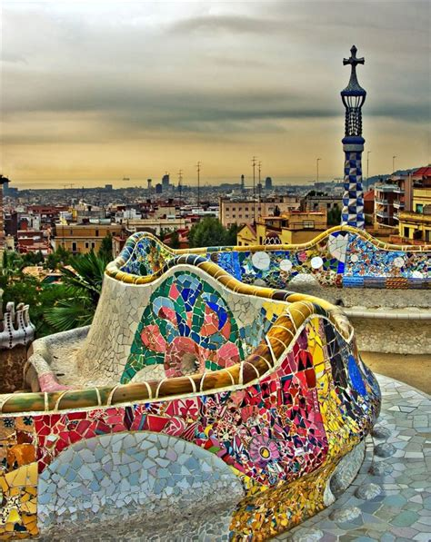 Barcelona part2: Gaudi Park Guell   moco choco