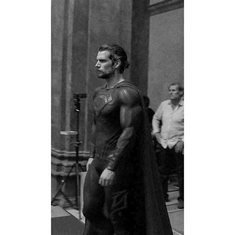 justice league film henry cavill breaking new image of a bearded henry cavill from the