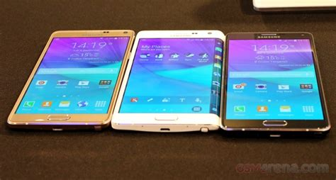 Samsung Galaxy Note 4 And Galaxy Note Edge Unleashed At Ifa 2014 Samsung Galaxy Note 4 And Galaxy Note Edge On