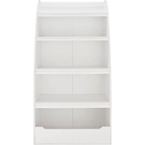 4 shelf bookcase white ameriwood home neptune white 4 shelf bookcase hd50384