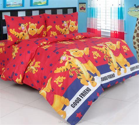 Bantal And Friends sprei panca pooh friend merah warungsprei