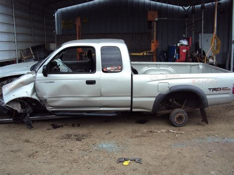 2003 Toyota Tacoma Parts 2003 Toyota Tacoma Xtra Cab Pre Runner Model With Trd