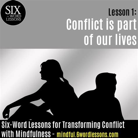 six word lessons for a peaceful divorce 100 lessons to dissolve your marriage with respect and cooperation the six word lessons series books conflict is part of our lives