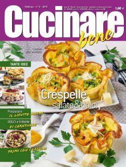 cucinare bene rivista ricette giornali gratis news pdf prima pagina archivio