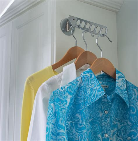 laundry room drying rod laundry room valet rod contemporary other metro by transform the of custom storage
