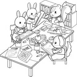 calico critters coloring pages calico critters coloring pages coloring home