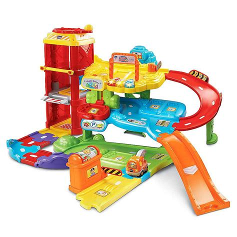 Vtech Toot Toot Car Garage by Toot Toot Drivers New Garage By Vtech Freemans