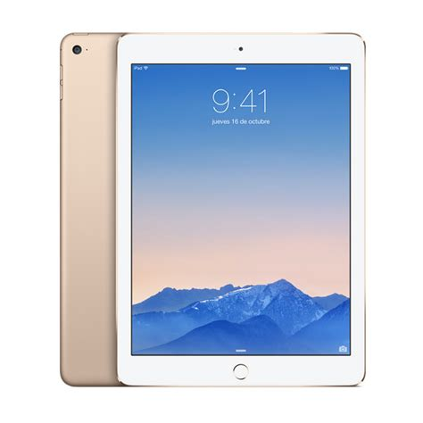 apple air 2 16gb 4g gold tablet