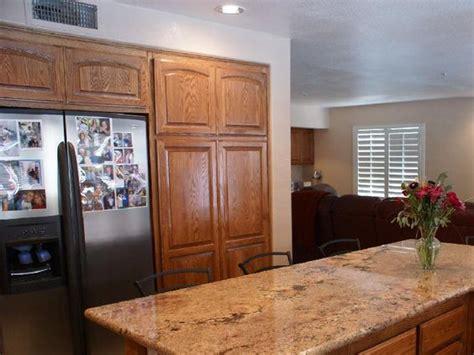 golden oak cabinets granite countertops cabinets beech