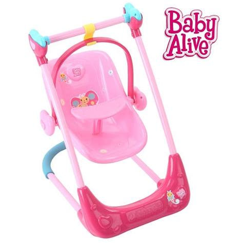 baby alive high chair swing baby alive swing high chair combo