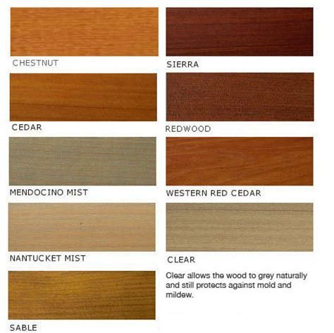 cedar stain colors color swatches gt penofin diy home center