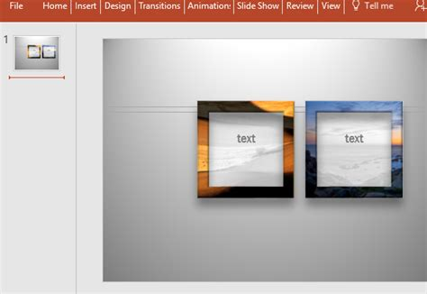 Picture Frames With Text For Powerpoint Picture Powerpoint Template