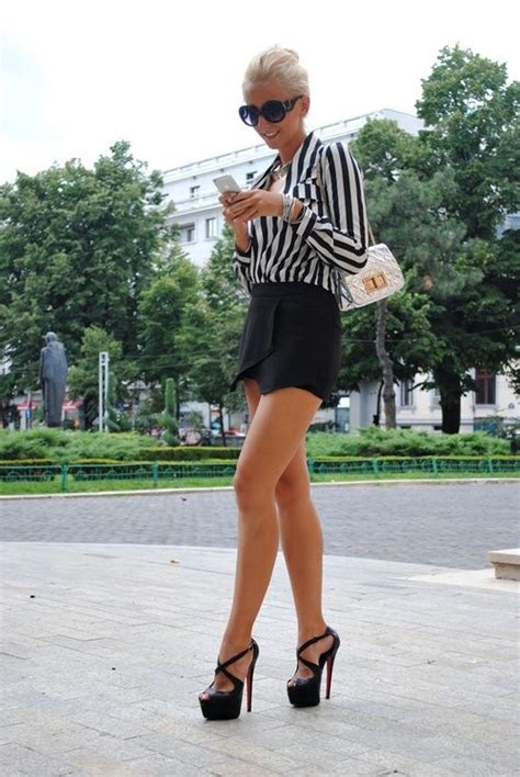 high heels and mini skirts office image 1360074 by korshun on favim