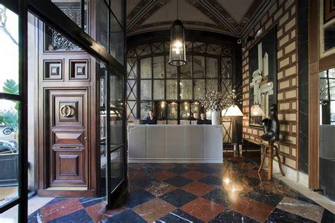 design house barcelona lighting cotton house hotel barcelona mixes neoclassical elements