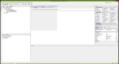 tutorial netbeans jframe create a java application that uses flare html5 help
