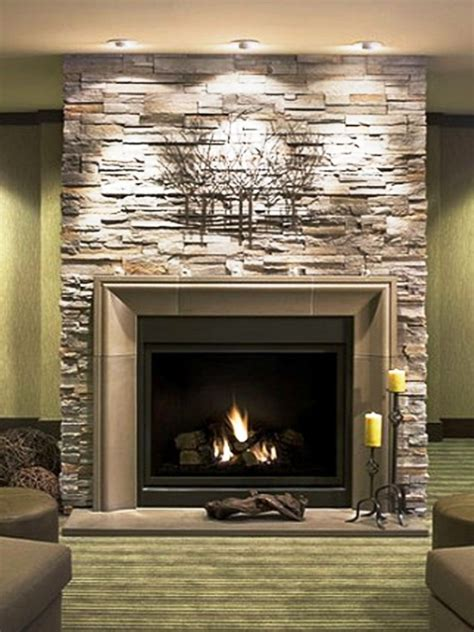 Breathtaking Ideas For Mantel Decor Comes With Stacked Mantel Lights