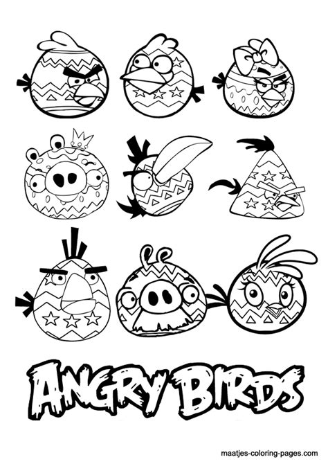 angry birds valentines day coloring pages angry birds easter coloring page