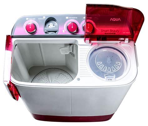 Mesin Cuci Aqua Qw 880xt jual aqua qw 880 xt mesin cuci tub 8 kg 2 tabung harga kualitas terjamin
