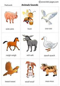 animal pictures for toddlers animal sounds printable flash cards for practicing during