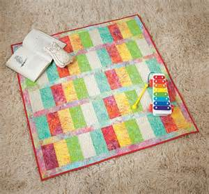 easy quilt kit simple and sweet pastel batik baby quilt 40