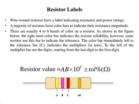 resistors label introduction to electricity презентация онлайн