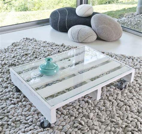 Transformer Palette En Table Basse by Transformer Une Palette En Table Basse Decorer Sa Maison Fr