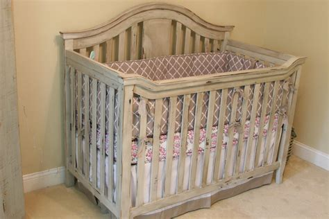 Vintage Look Baby Crib And Dresser Vintage Cribs For Babies