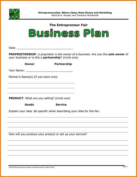 templates for business spreadsheet for business plan spreadsheets