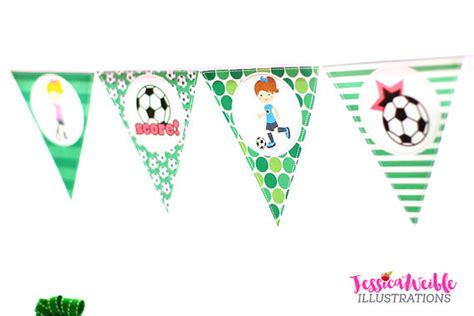 printable soccer banner soccer girls printable party banner printable soccer happy