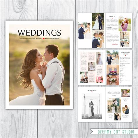 photography magazine template wedding photography magazine template wedding pricing