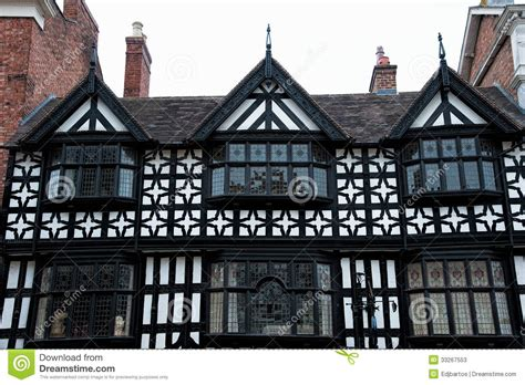 tudor building tudor buildings stock image image of landmark british