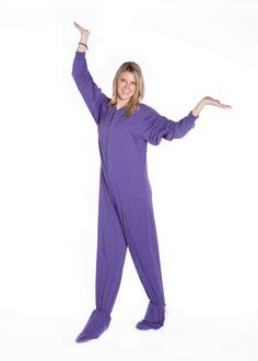 most comfortable onesie 206 purple fleece footed onesies for him her fleece