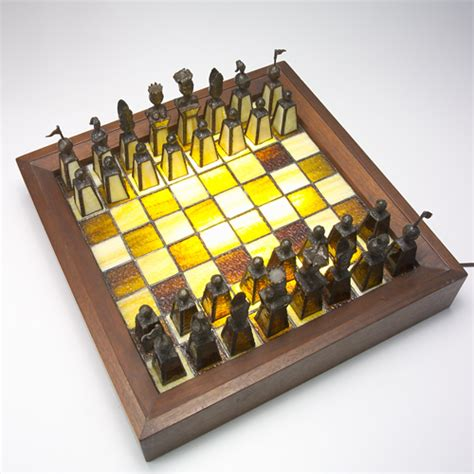 glass chess boards 193 artisanal stained glass chess set of chocolate and