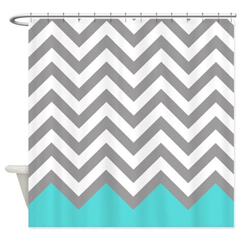 grey pattern turquoise manduca grey and turquoise pattern 2 shower curtain by retroculture