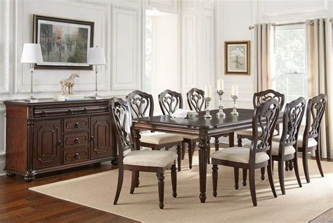 steve silver dining room furniture steve silver 10 piece 84 215 42 dining room set
