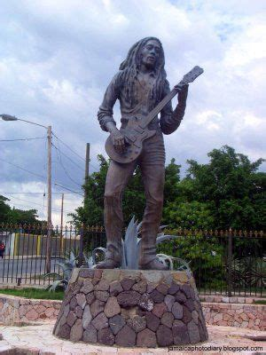 bob marley biography greek bob marley statue in jamaica travel pinterest