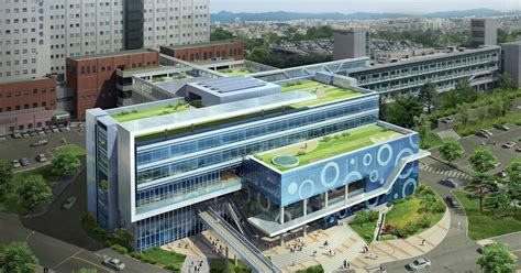 zk layout center design projects of yeungnam university medical center