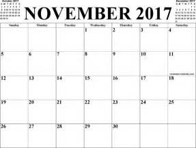 Calendar November 2017 Thanksgiving The November 2017 Calendar 3 Can Help You Make A