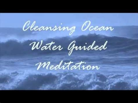 Guided Sleep Meditation Detox by Cleansing Water Guided Meditation